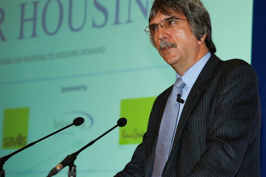 DCLG chief planner Steve Quartermain at today's event