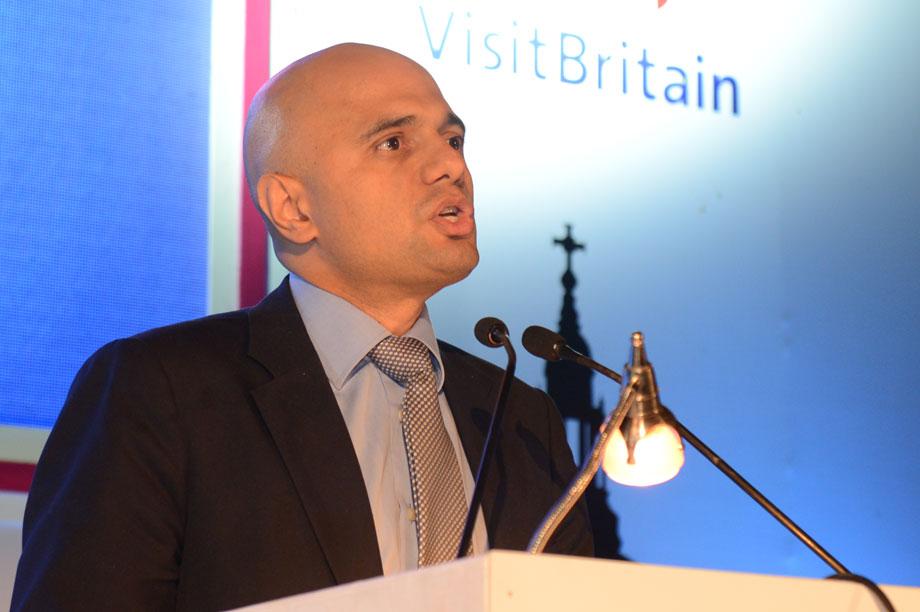 The communities secretary Sajid Javid