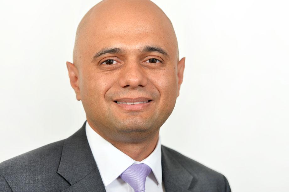 Communities secretary Sajid Javid