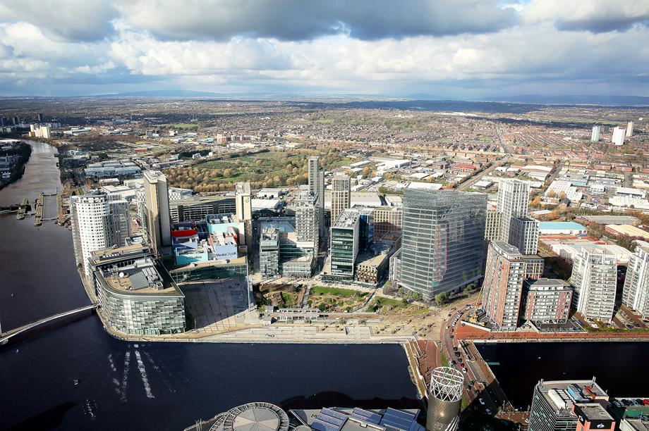 Salford landmark: MediaCityUK to double in size