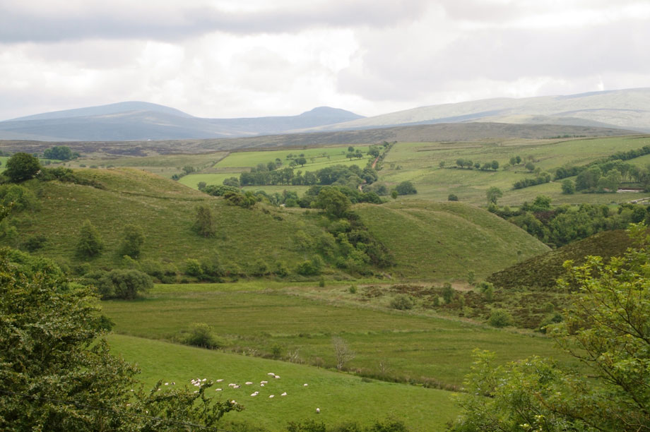 The Sperrin mountains (pic: Lindy Buckley via Flickr)
