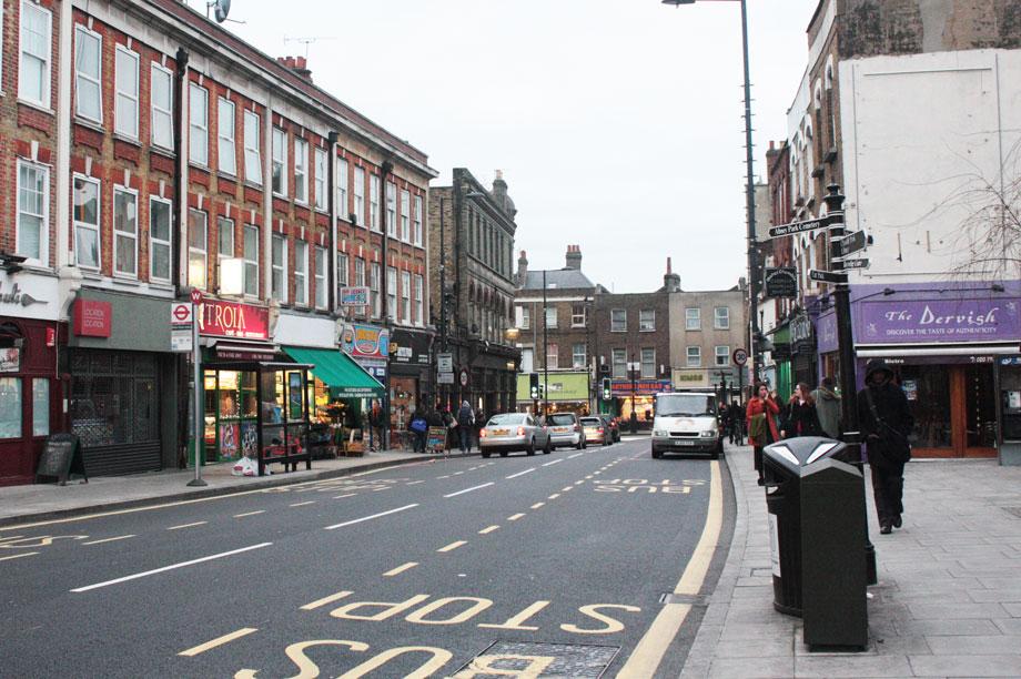 Stoke Newington (pic quite peculiar via flickr)