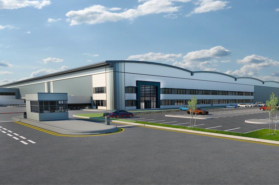 The proposed development in Merseyside (Pic: Tritax Big Box REIT)
