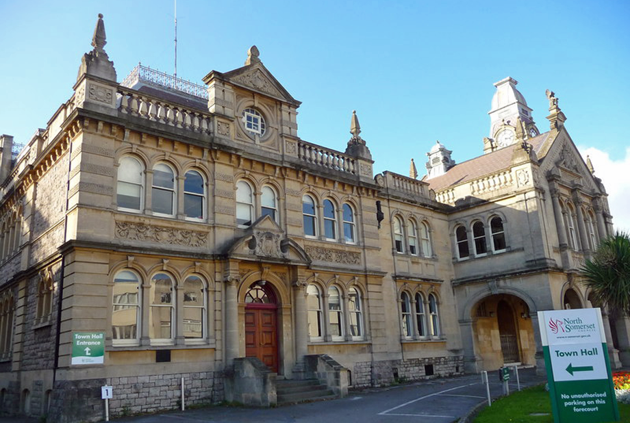 North Somerset Council. Image by Chris Talbot, geograph.org.uk
