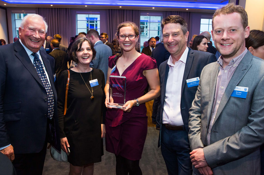 Success: Wokingham Borough Council celebrate their win in this year's making development viable category