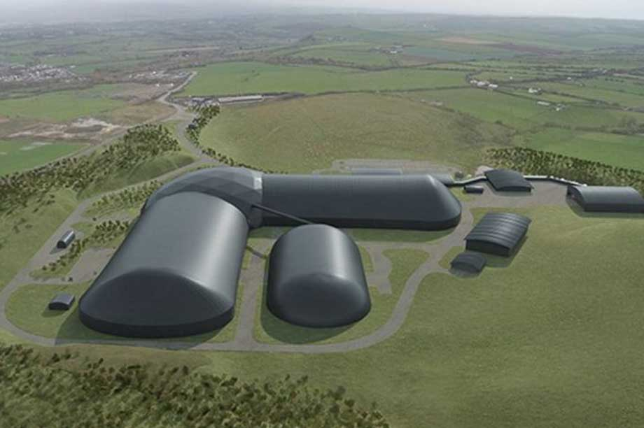 A visualisation of the finished Woodhouse Colliery (Pic: West Cumbria Mining)