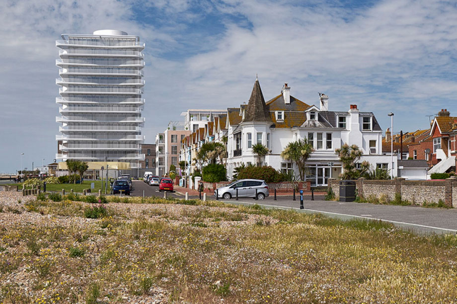 Worthing: CIL rate for flats slashed