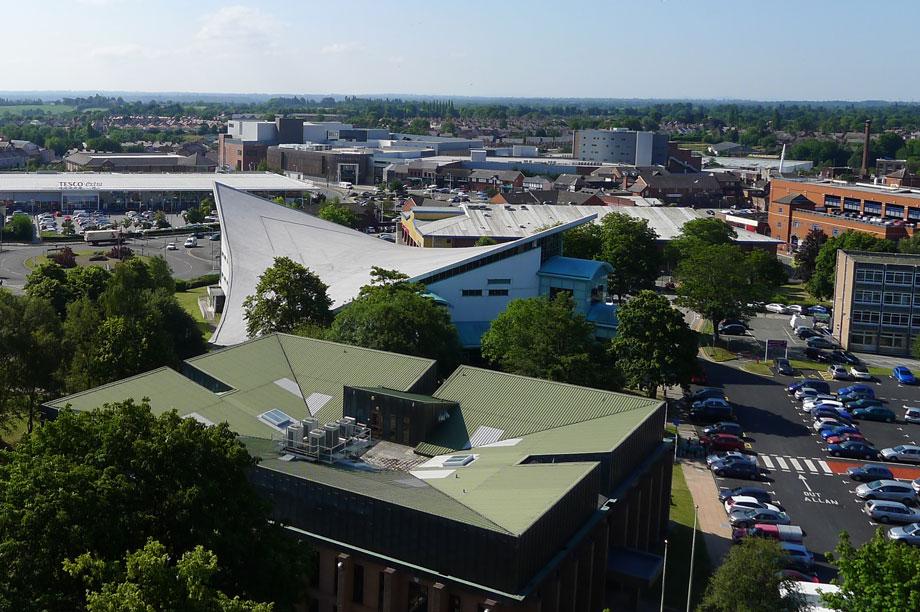 Wrexham: town centre masterplan adopted